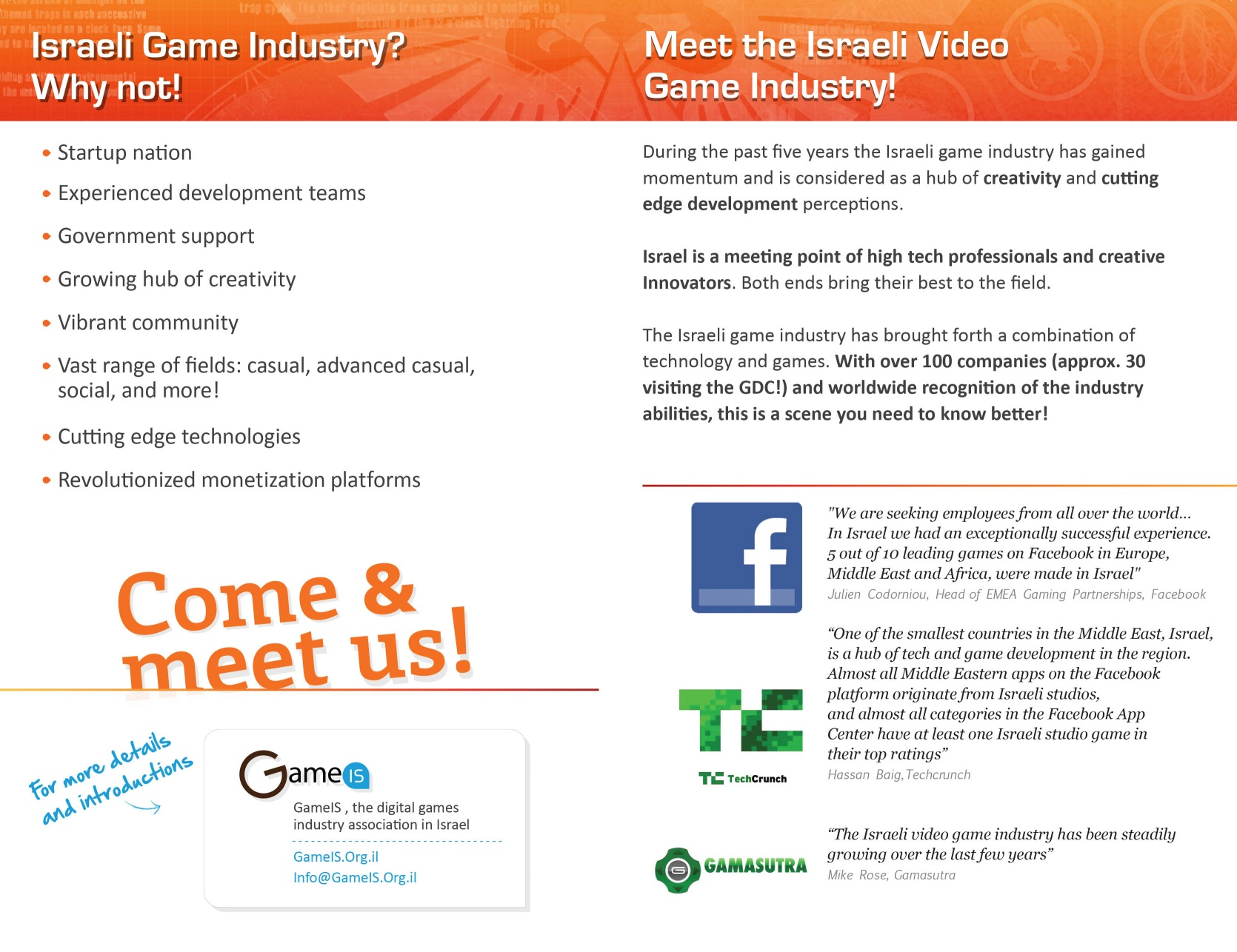 Israeli Video Game Industry - click to enlarge